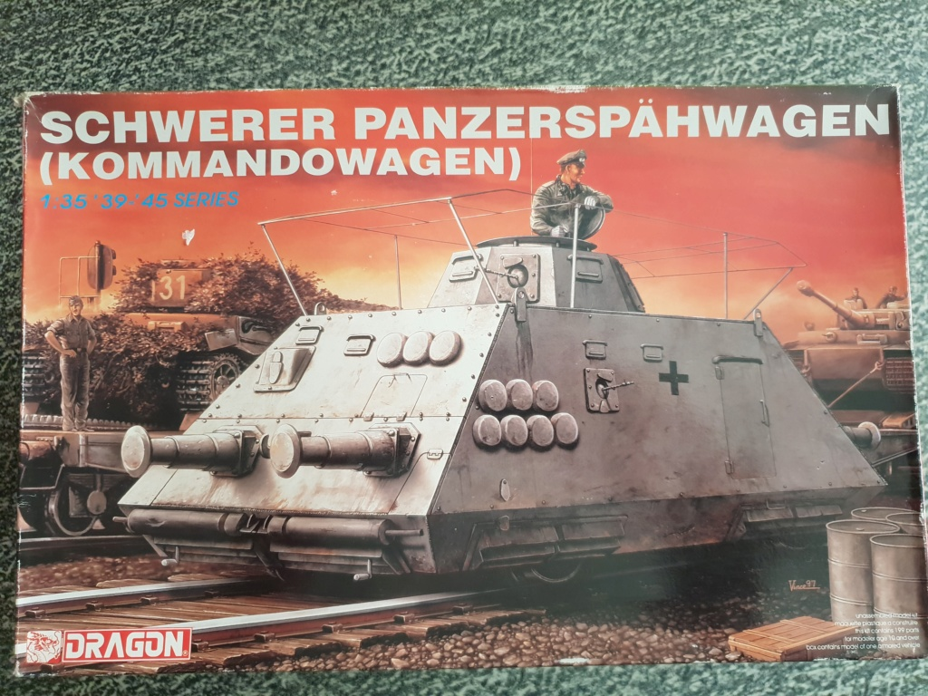 Reconnaissance Armored Train Avril 1945 20190415