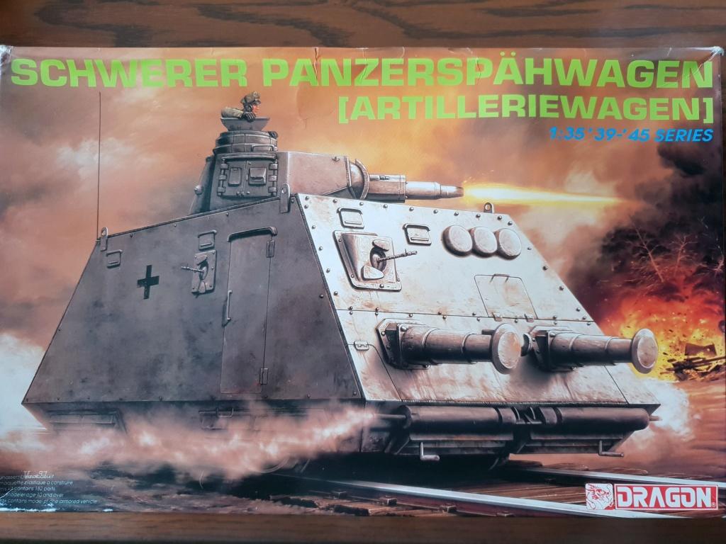 Reconnaissance Armored Train Avril 1945 20190416