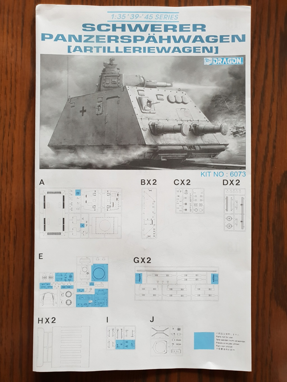 Reconnaissance Armored Train Avril 1945 20190417