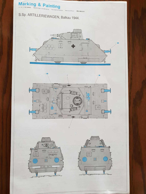 Reconnaissance Armored Train Avril 1945 20190423