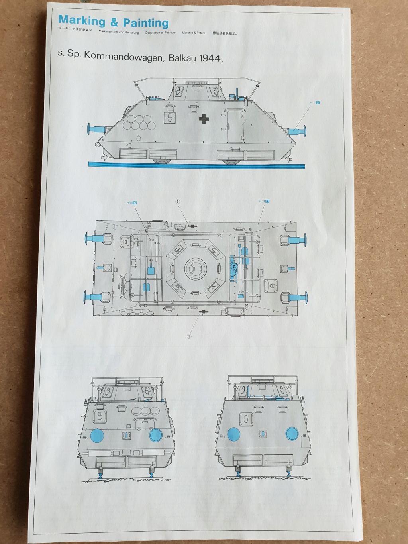 Reconnaissance Armored Train Avril 1945 20190453