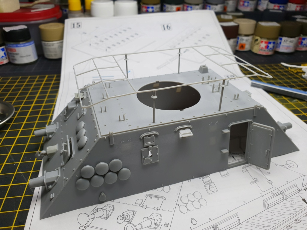 Reconnaissance Armored Train Avril 1945 20190459