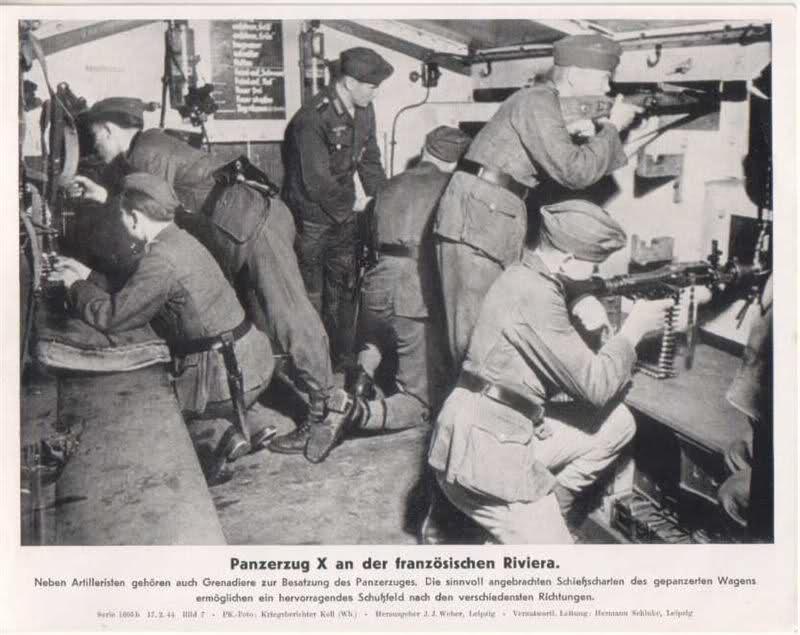 Reconnaissance Armored Train Avril 1945 350tev10