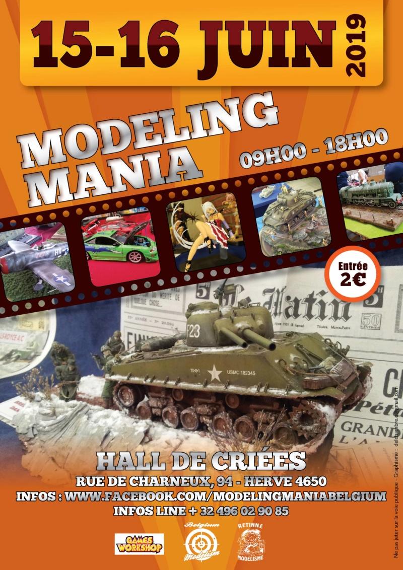 MODELING MANIA 15-16 JUIN 2019 Affich10