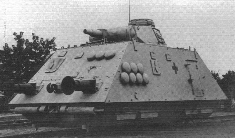 Reconnaissance Armored Train Avril 1945 H210