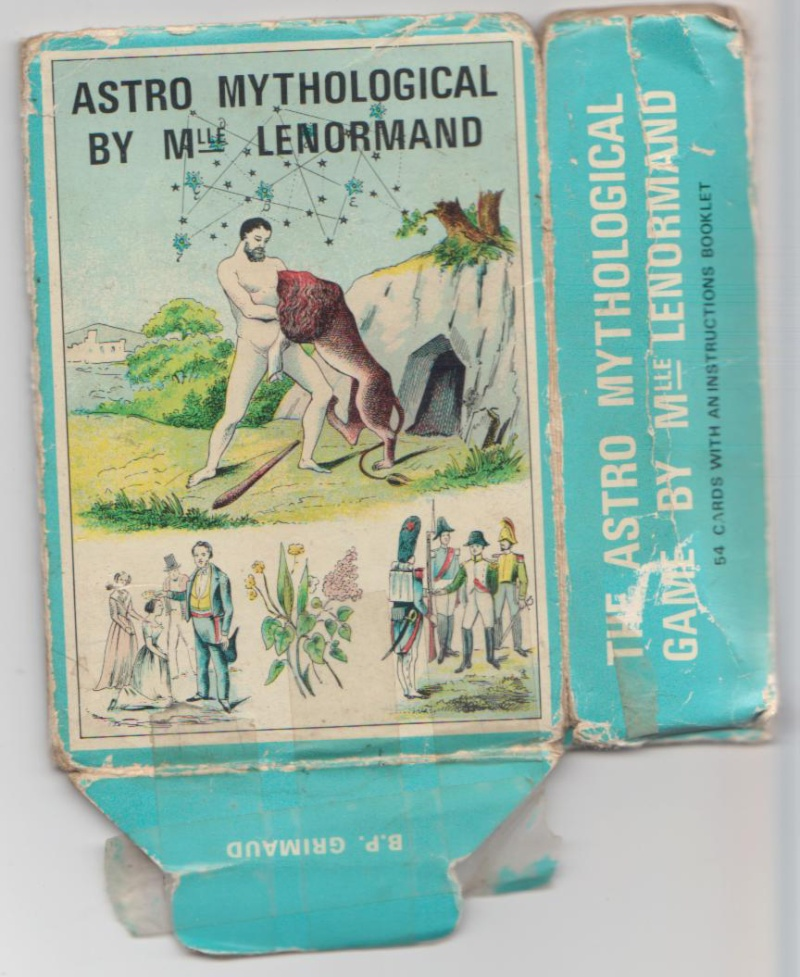 Grand Jeu de Melle Lenormand Ancien10