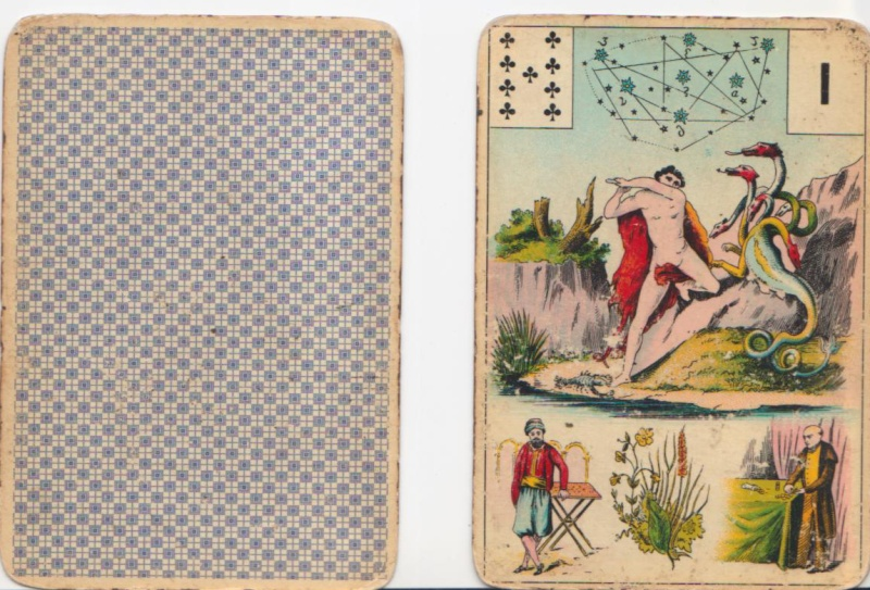 Grand Jeu de Melle Lenormand Ancien12