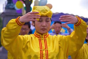 La secte Zhuan Falun Falun_11