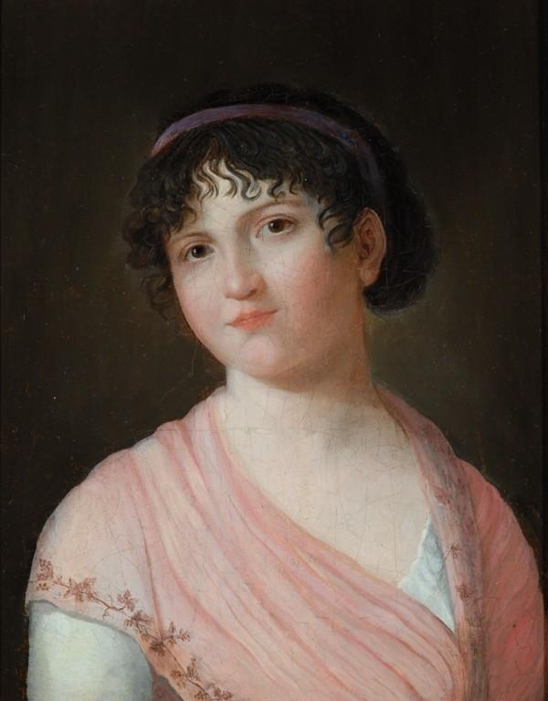 Portrait de Melle Lenormand Lenorm28