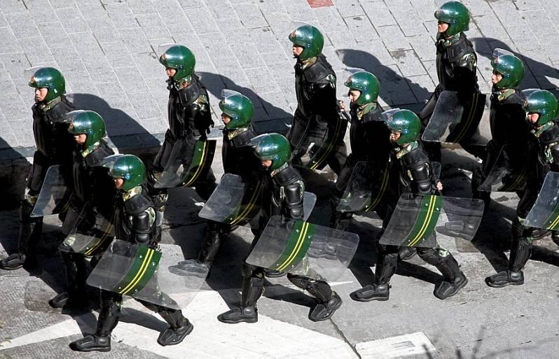 La secte Zhuan Falun Police10