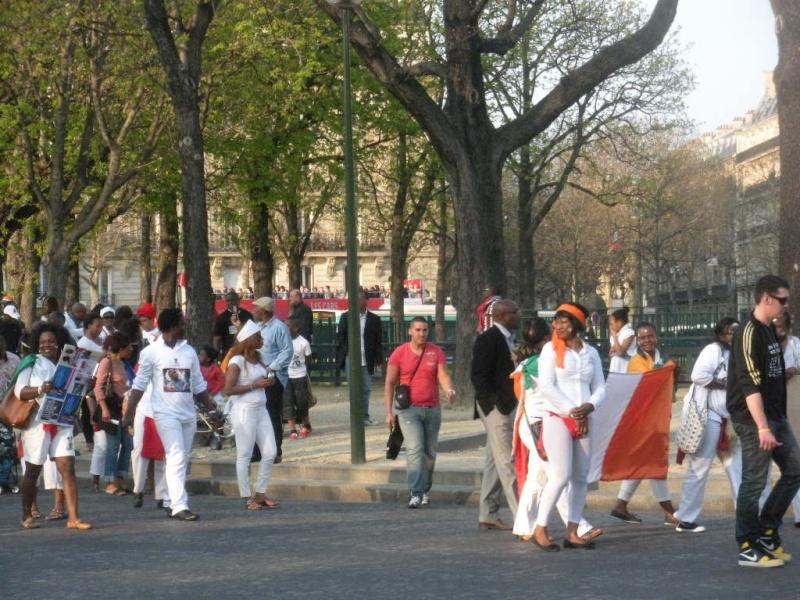 Afrique Rituel du cochon place du Trocadéro Rituel11
