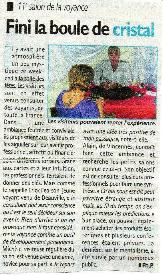 Salon de la voyance à la salle des fêtes de Savigny sur Orge Salon10