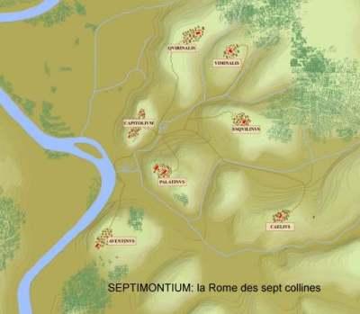 LES 7 COLLINES DE ROME Septim10
