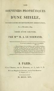 Biographie de Melle Lenormand selon Louis Du Bois Souven10