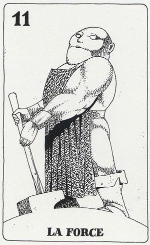 Tarot des Pauvres par Paul de Becker Tarot_11