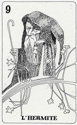 Tarot des Pauvres par Paul de Becker Tarot_12