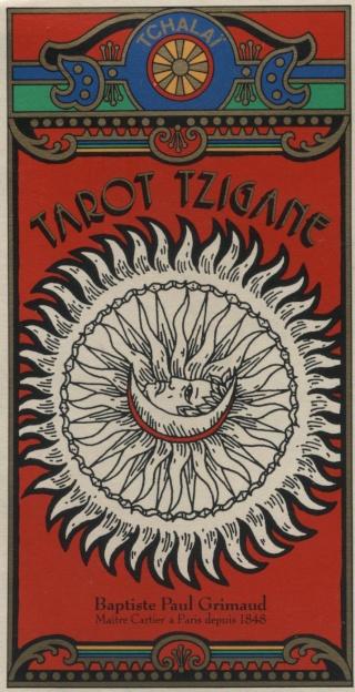 Tarot Tzigane, tarot des Roms Tarot_46