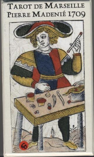 Tarot de Marseille Pierre Madenié 1709 par Yves Reynaud Tarot_53