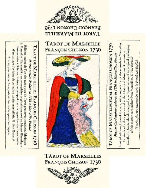 Tarot de Marseille François CHOSSON 1736 Tarot_68