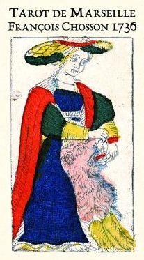 Tarot de Marseille François CHOSSON 1736 Tarot_69