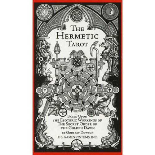 The Hermetic Tarot - Secret of the Golden Dawn Par Godfrey Dowson The_he14