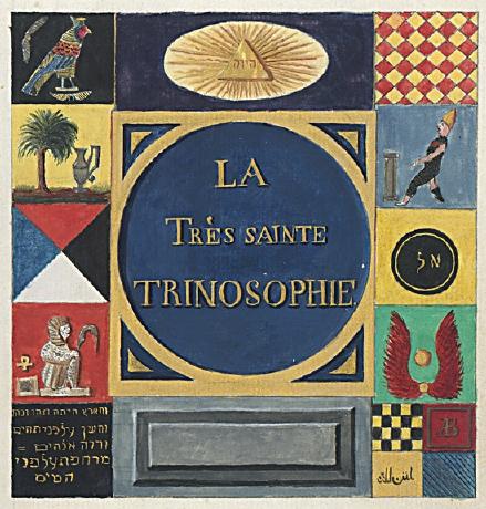 La très Sainte Trinosophie du Comte Saint Germain Titlep10
