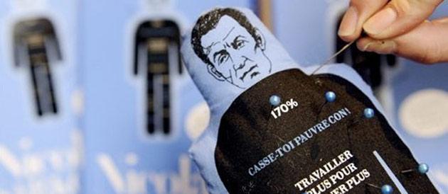 Poupée vaudou : une demi-victoire en appel pour Nicolas Sarkozy  Vaudou11