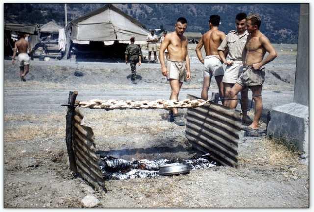 9iéme regiment de chasseurs parachutiste (9é rcp) à /aokas Bv000011
