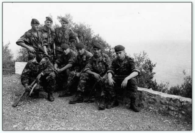 9iéme regiment de chasseurs parachutiste (9é rcp) à /aokas Bv000013