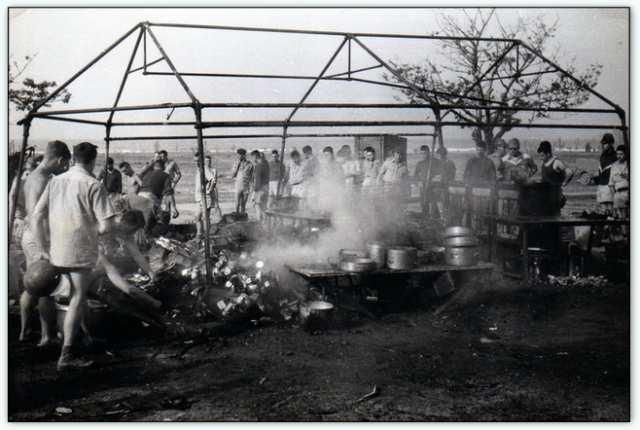 9iéme regiment de chasseurs parachutiste (9é rcp) à /aokas Bv000018