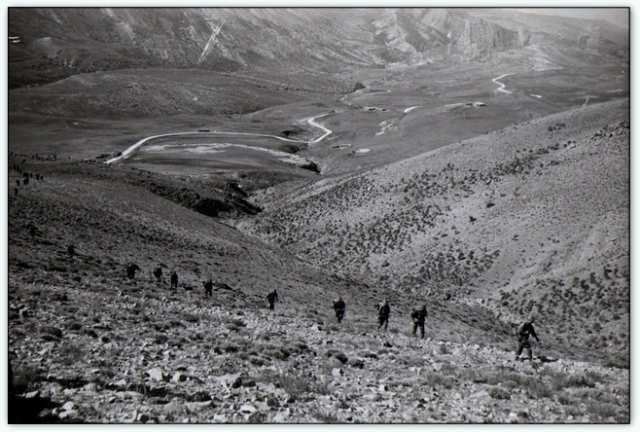 9iéme regiment de chasseurs parachutiste (9é rcp) à /aokas Bv000022
