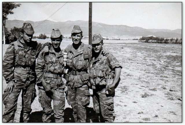 9iéme regiment de chasseurs parachutiste (9é rcp) à /aokas Bv000025