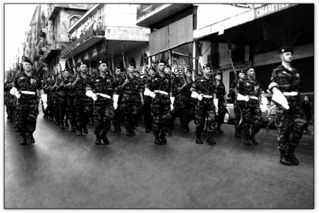 9iéme regiment de chasseurs parachutiste (9é rcp) à /aokas Bv000027