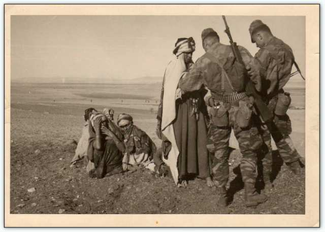 9iéme regiment de chasseurs parachutiste (9é rcp) à /aokas Bv000030