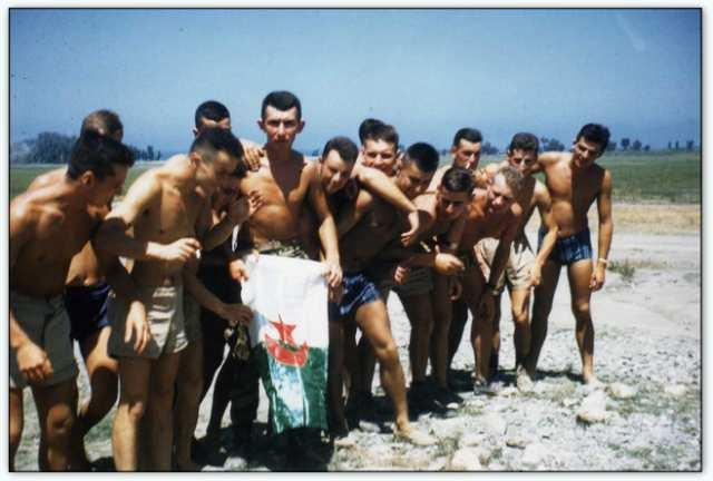 9iéme regiment de chasseurs parachutiste (9é rcp) à /aokas Bv000031