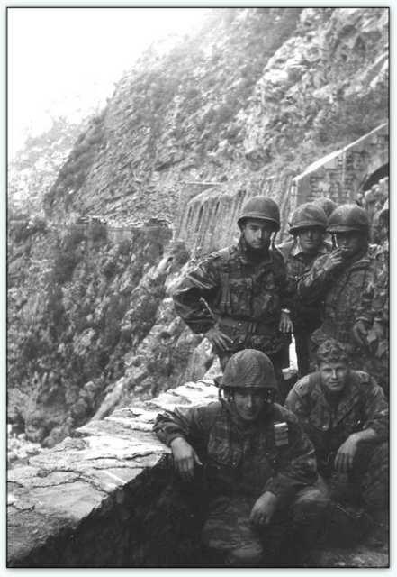 9iéme regiment de chasseurs parachutiste (9é rcp) à /aokas Bv000033