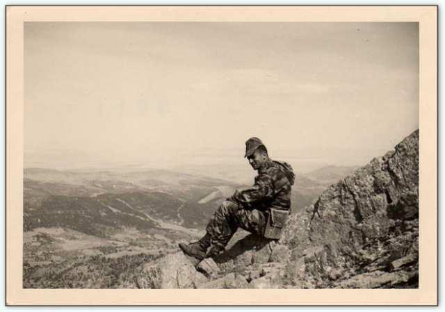 9iéme regiment de chasseurs parachutiste (9é rcp) à /aokas Bv000035