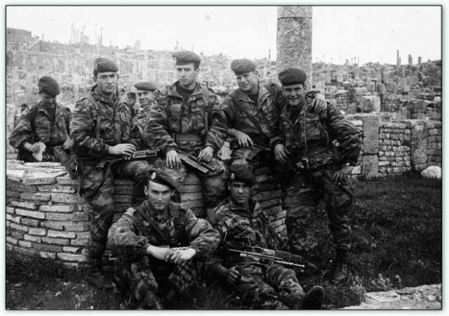 9iéme regiment de chasseurs parachutiste (9é rcp) à /aokas Bv000036