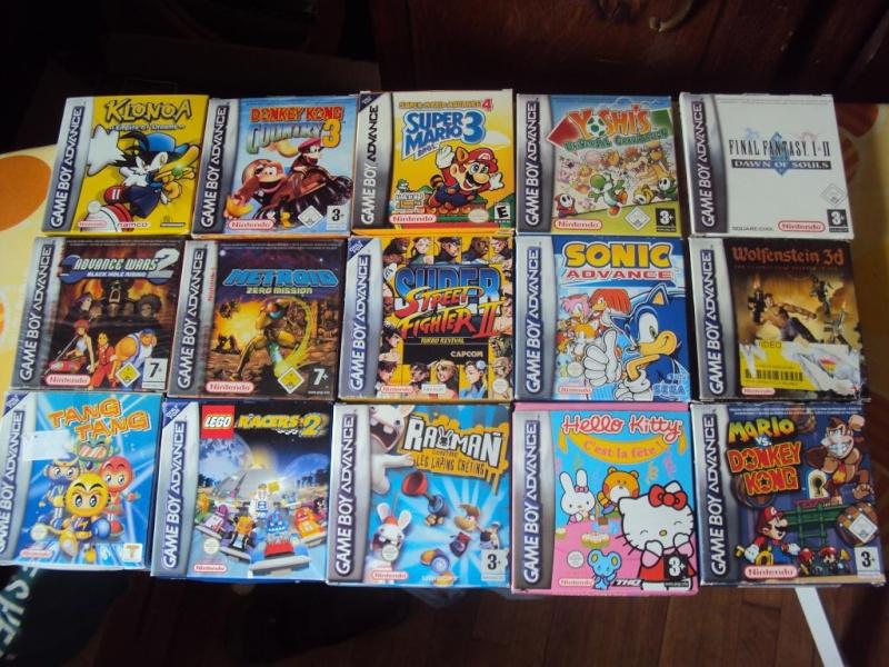 y a des news ! divers jeux consoles ctre jeux snes en boite Dsc03815