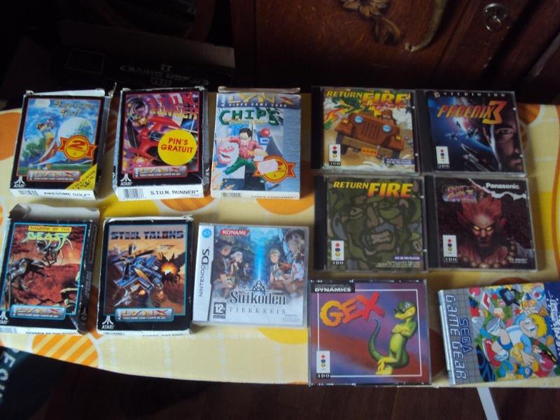 y a des news ! divers jeux consoles ctre jeux snes en boite Dsc03817