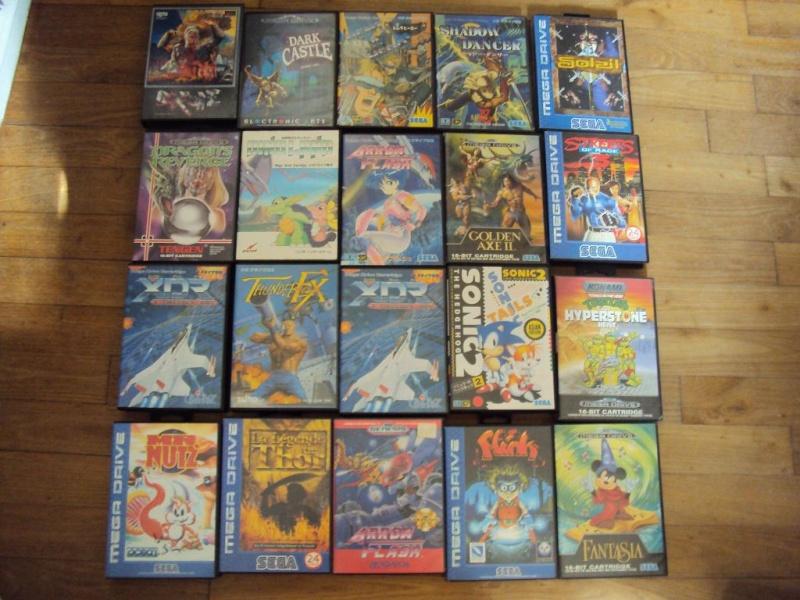 y a des news ! divers jeux consoles ctre jeux snes en boite Dsc03828