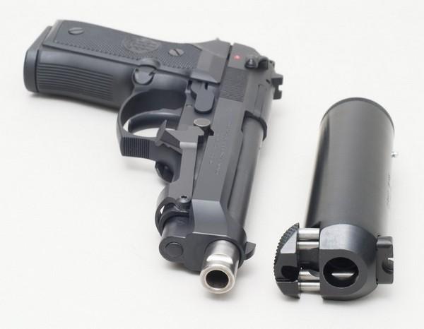 Connecteur rapide pour pistolet 22 et pistolet 9 mm para Berett10