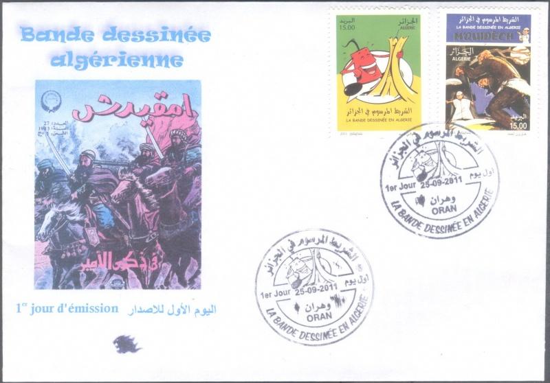 La Bande Dessinée en Algérie  00310