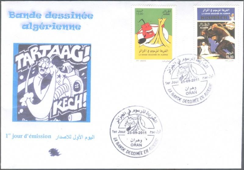 La Bande Dessinée en Algérie  00410