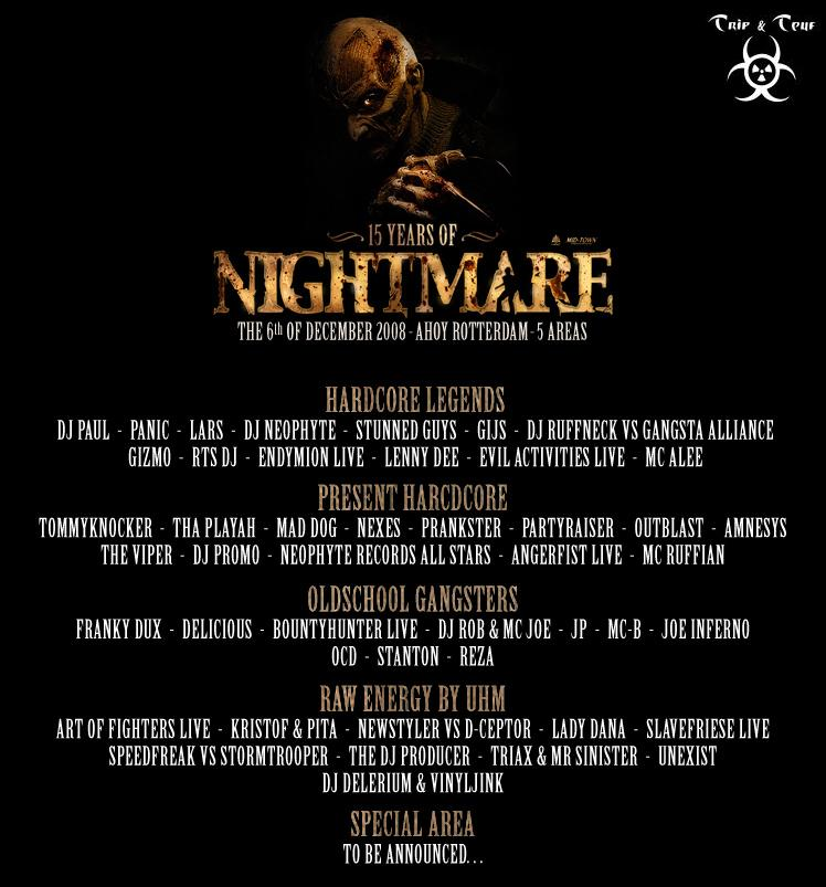 [15 Years of Nightmare - AHOY - Rotterdam - 06/12/2008 - NL ] - Page 3 Nightm10