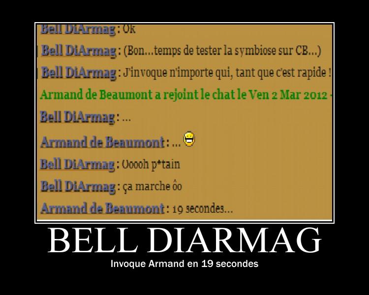 """""""De la motivation, bordel !"""" Bell s'amuse... - Page 2 Armand10"""