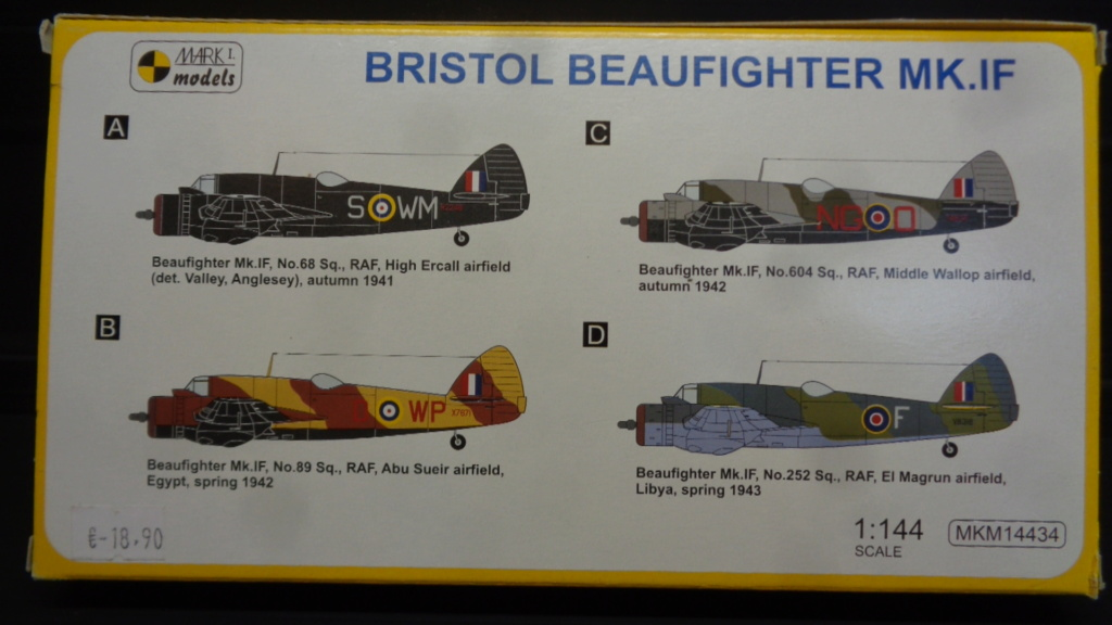BRISTOL BEAUFIGHTER MK. 1F MARK I Models Dsc04944