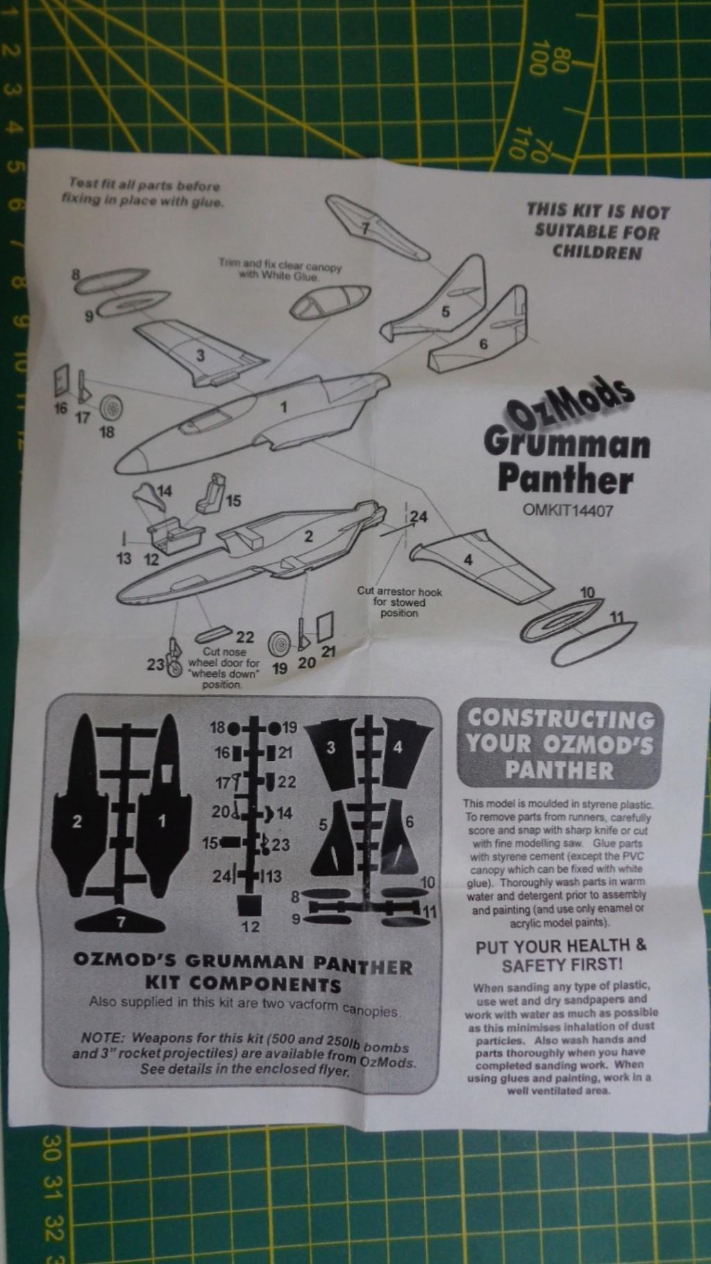[OZ MODS] GRUMMAN F 9 F PANTHER Réf OMKIT 14407 1/144ème Dsc05019