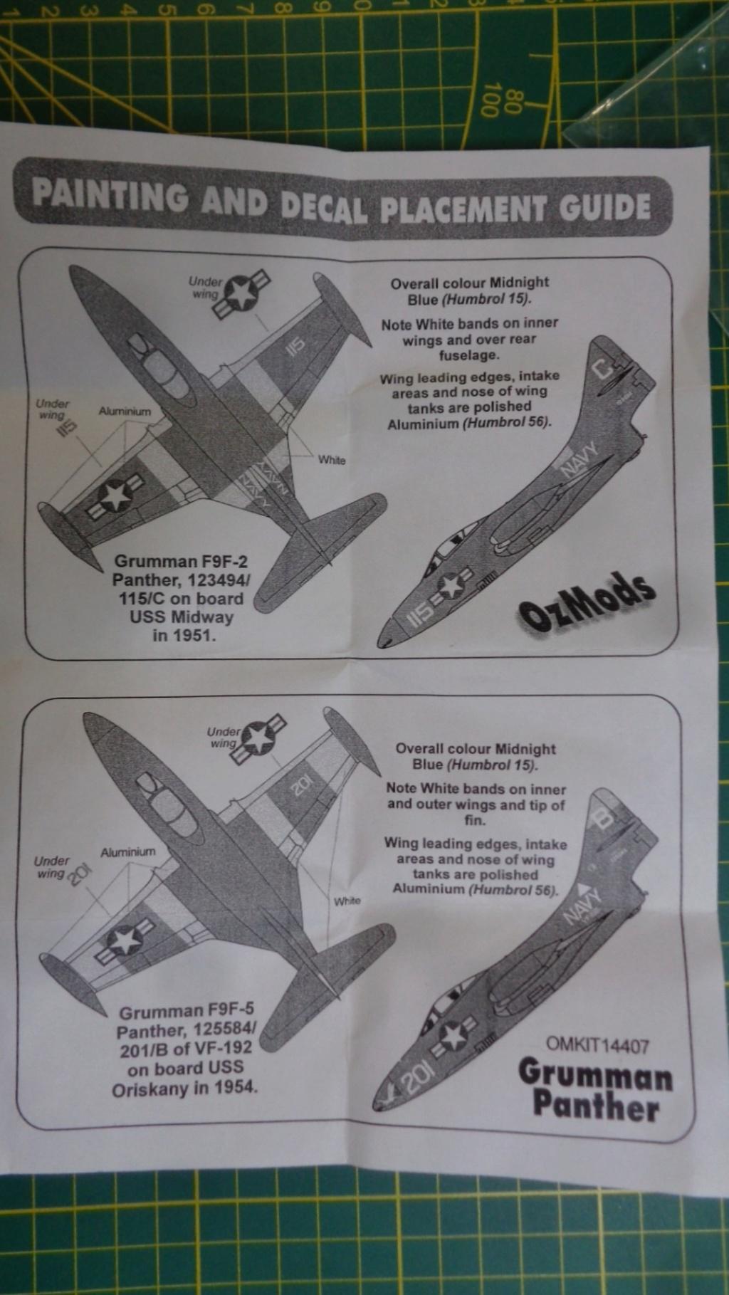 GRUMMAN F 9 F Panther OZmods 1/144 Dsc05020