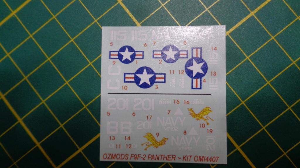 GRUMMAN F 9 F Panther OZmods 1/144 Dsc05028